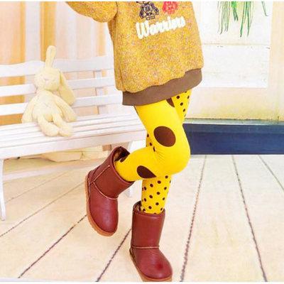 Legging geel bruin