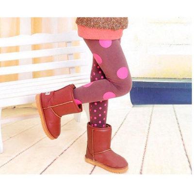 Legging lichtbruin roze