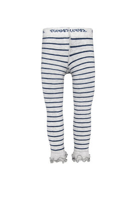Ewers 7/8e grijs gestreepte legging